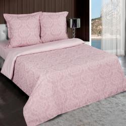 """Купить постельное белье поплин гладкокрашеный """"Византия розовая"""" в Дзержинске"""