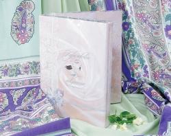 Постельное белье перкаль «Миндаль 2» (простынь на резинке)