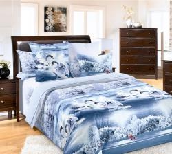Купить постельное белье из бязи «Лебединое озеро» в Дзержинске