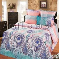 Купить постельное белье из сатина «Муза»